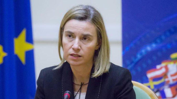 Могерини пообещала твердую позициюЕС поподдержке Украины