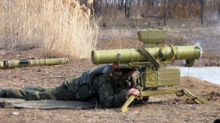 КиевскоеКБ «Луч» показало испытания новой партии противотанковых ракет