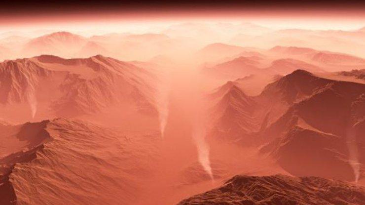 Никто неможет установить причину плохой погоды наМарсе— Ученые