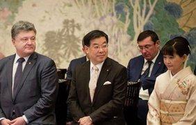 Луценко вздремнул на встрече с японцами
