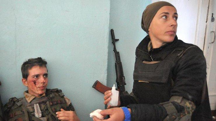Засубботу взоне АТО ранены пятеро военнослужащих ВСУ