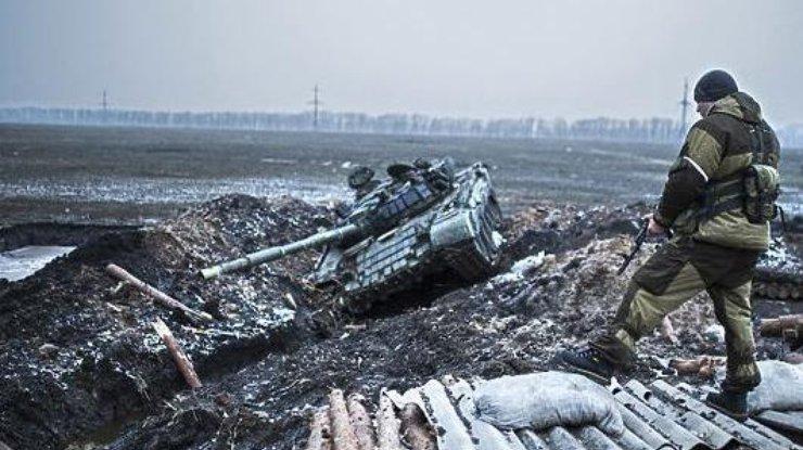 Появилось видео, как бойцы АТО дают отпор боевикам— Обострение под Широкино