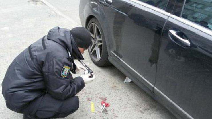 ВКиеве неизвестные разбили мужчине голову иотобрали сумку сденьгами