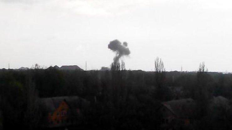 В итоге  взрыва вДонецкой области умер  мужчина