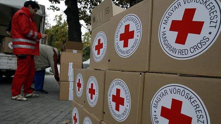НаДонбасс выехал гумконвой отКрасного Креста