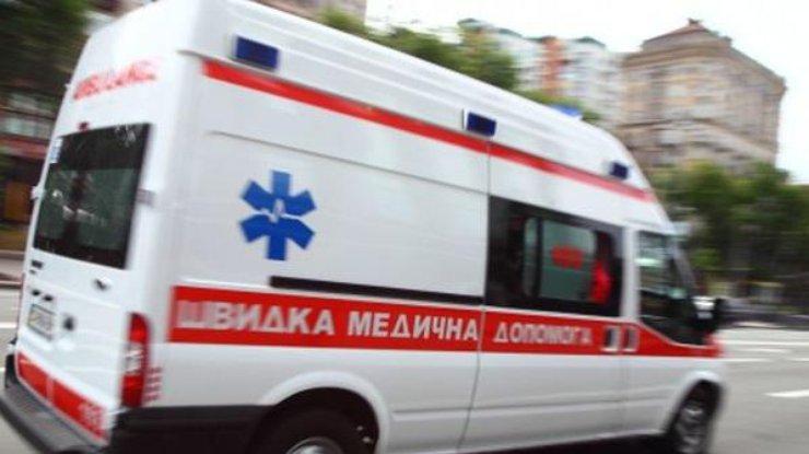 Боевики «ЛНР» обстреляли машину скорой помощи