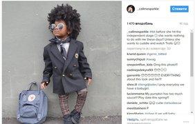 Спаркл. Follow @ _callmesparkle. Трехлетняя Спаркл прославилась в сети благодаря своей необычной внешности и, конечно, «взрослому» стилю – гардеробу девочки может позавидовать даже взрослая модница