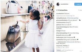 Лондон Скаут. Follow @ scoutfashion. Аккаунт стильной малышки Лондон Скаут и ее не менее стильной мамы Сай де Сильвы