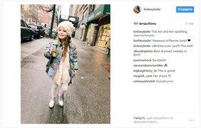 Стелла. Follow @ lindseybelle. Маленькая модница из Нью-Йорка славится своим невероятно милым стилем, который принес ей популярность в сети
