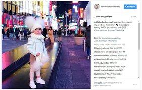 Милли-Белль. Follow @ milliebellediamond. Трехлетняя малышка Милли-Белль из Австралии стала настолько популярной в Instagram, что ее пригласили участвовать в детском показе в рамках Нью-йоркской неделе моды