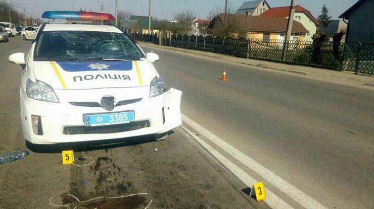 Под Ивано-Франковском пьяная женщина сбила троих человек и убежала сместа ДТП