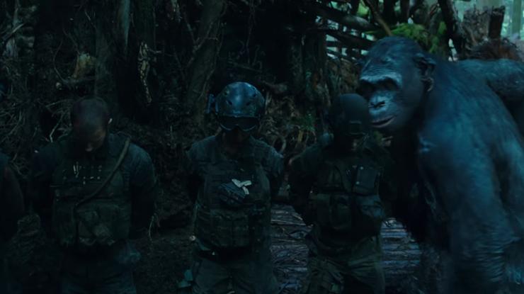 20th Century Fox обнародовала трейлер фильма «Планета обезьян: Война»