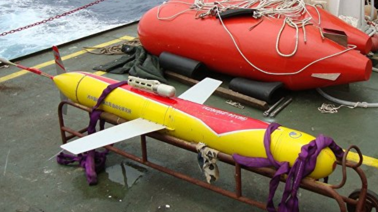 Китайский подводный аппарат погрузился нарекордную глубину