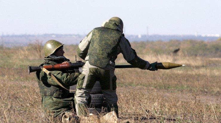 Вербное воскресенье вАТО: боевики бьют изминометов игранатометов