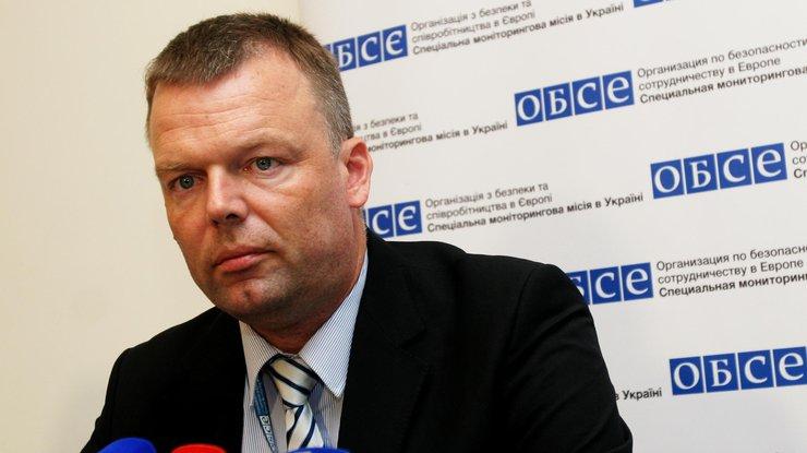 Хуг: Навостоке Украины работает 581 наблюдатель СММ ОБСЕ