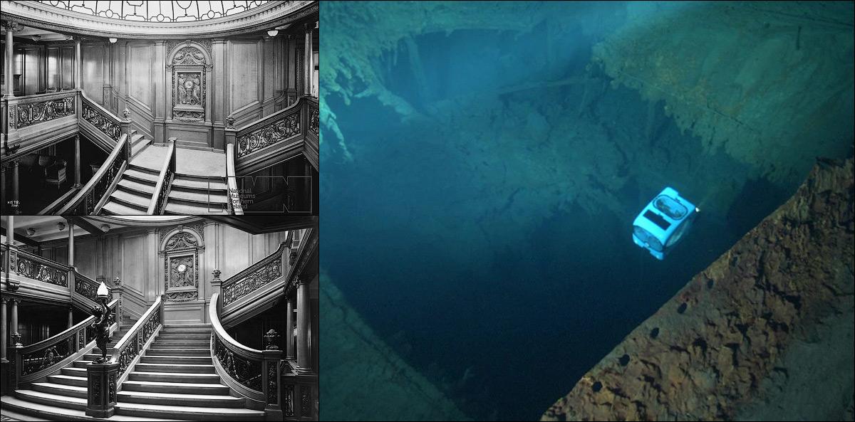 титаник фото под водой сейчас