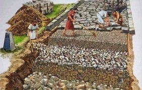 Ремонт дорог в Древнем Риме