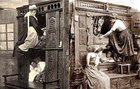Так спали горничные в Англии, 1843 год