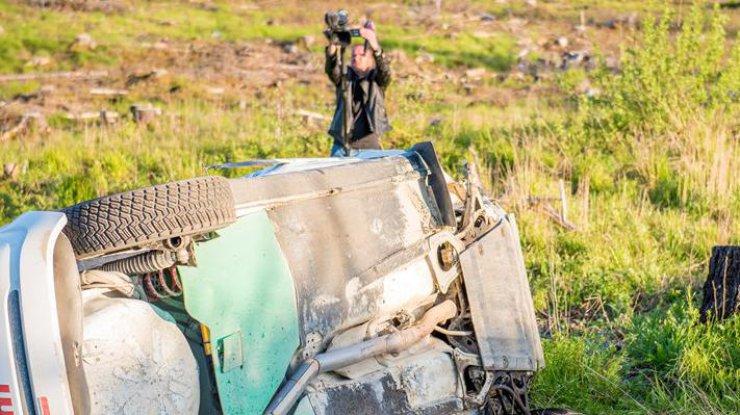 Пилот сбил опору ЛЭП наралли воФранции— смертоносная гонка