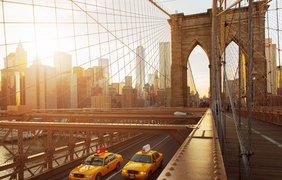 Бруклинский мост, Нью-Йорк, США.
