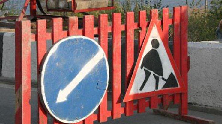 ВКиеве до10апреля ограничили движение наКольцевой дороге