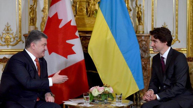 Президент Украины подписал закон оратификации соглашения оЗСТ сКанадой