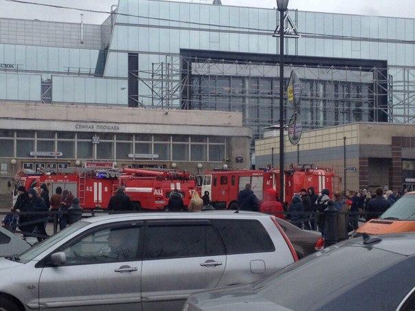 Взрыв прогремел вметро Санкт-Петербурга, есть жертвы