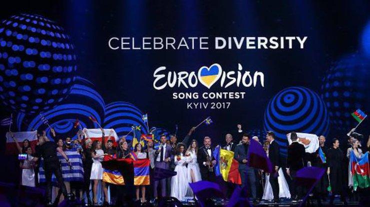 Определены первые десять финалистов «Евровидения-2017»