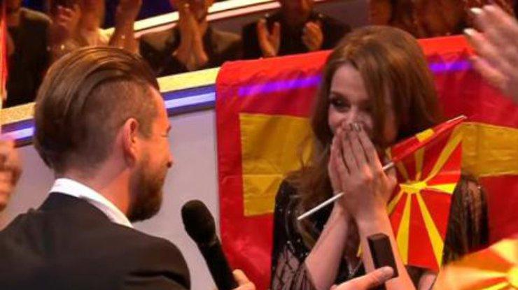 Евровидение-2017: беременной конкурсантке изМакедонии сделали предложения  ...