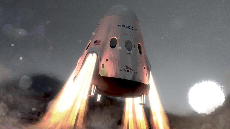 SpaceX планирует отправить два корабля Red Dragon кМарсу в 2020-ом году