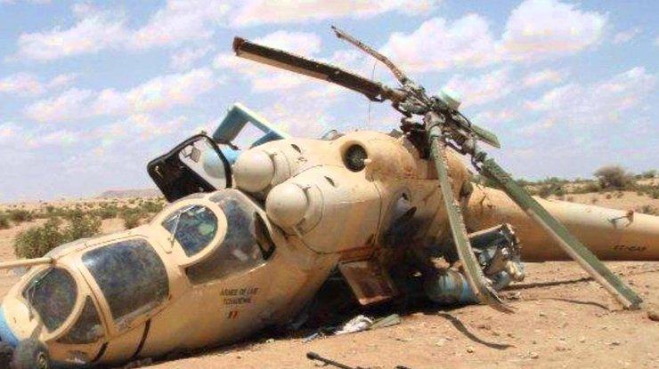 Боевики сбили иракский вертолет недалеко отМосула