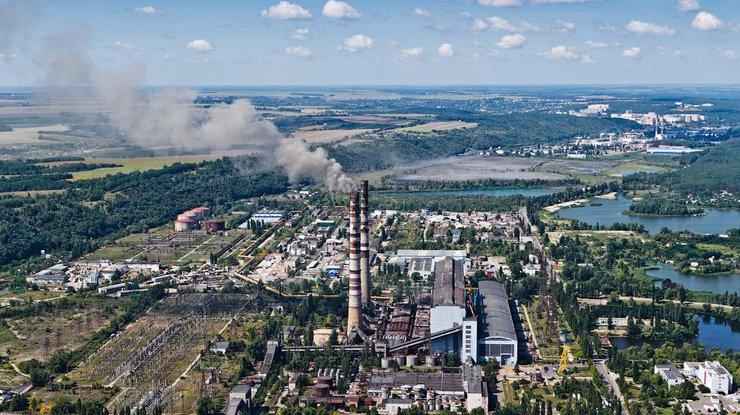 Вгосударстве Украина снова остановлена Трипольская теплоэлектростанция