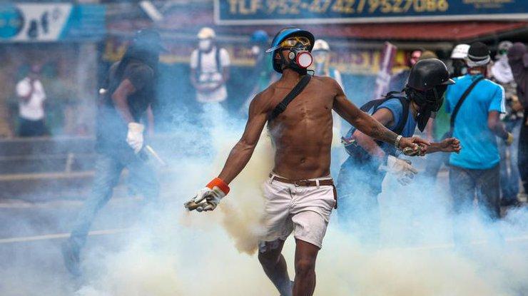 ВВенесуэле задержаны десятки участников акций протеста