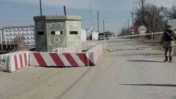 Боевики обстреляли контрольный пункт въезда-выезда наДонетчине