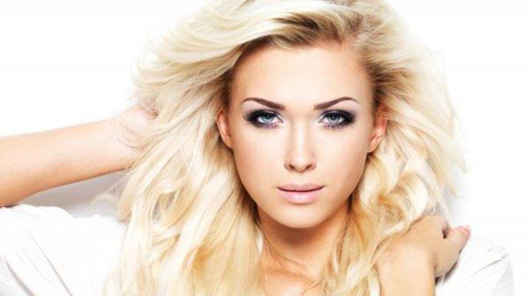 Блондинка фото видио