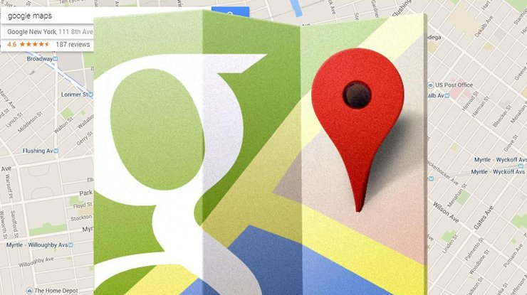 ВGoogle Карты добавлена возможность редактировать дороги