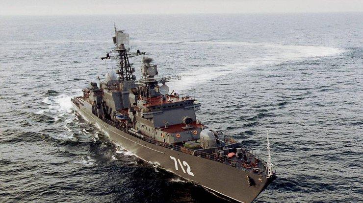 ВЯпонском море судно Южной Кореи врезалось вкрейсер США
