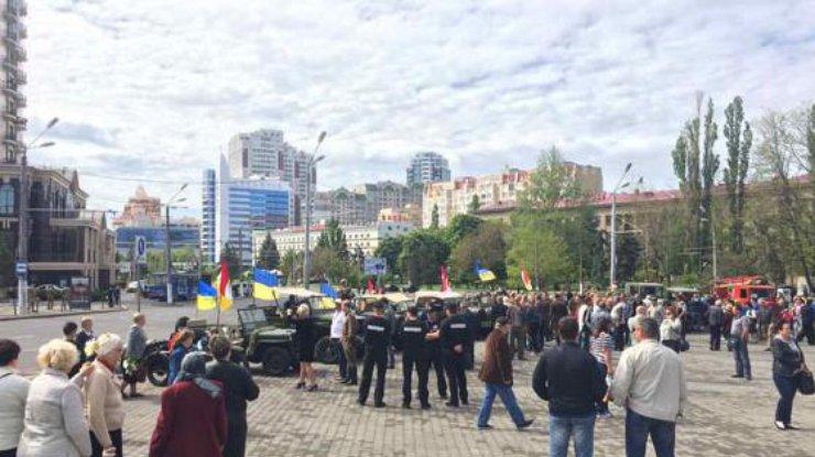 ВКиеве 9мая задержали 25 человек, еще 20— в остальных городах