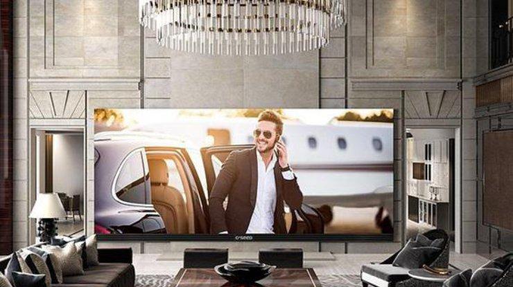 Наибольший вмире 4K-телевизор удивил собственной ценой