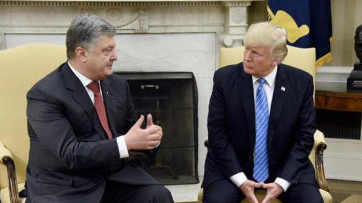 Порошенко доволен, что сможет  донести свою версию доБелого дома ранее  Владимира Путина