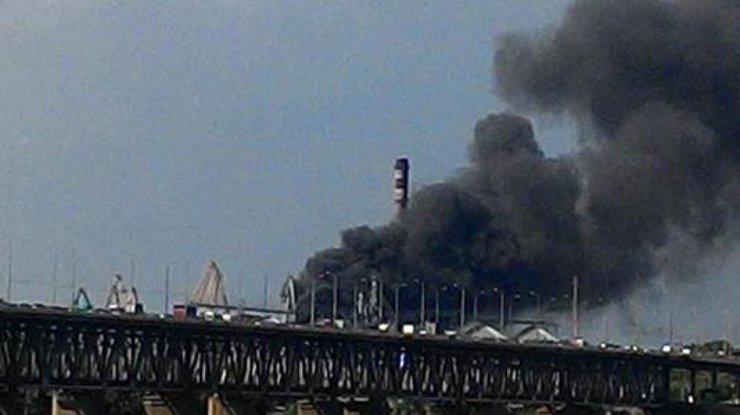 ВДнепре масштабный пожар— полыхает металлургический завод Игоря Коломойского