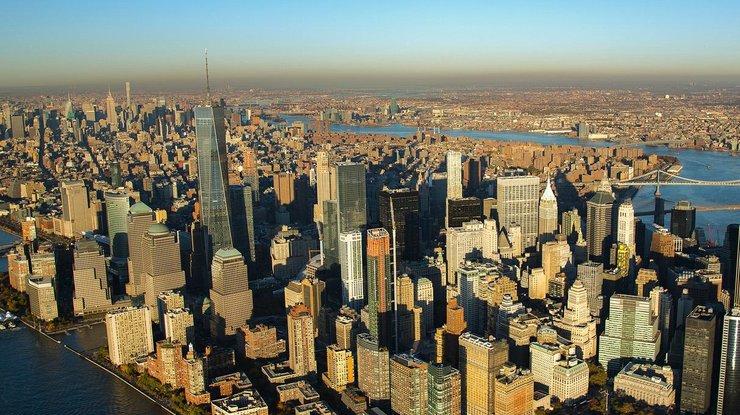 Ученые показали навидео, как Нью-Йорк уйдет под воду