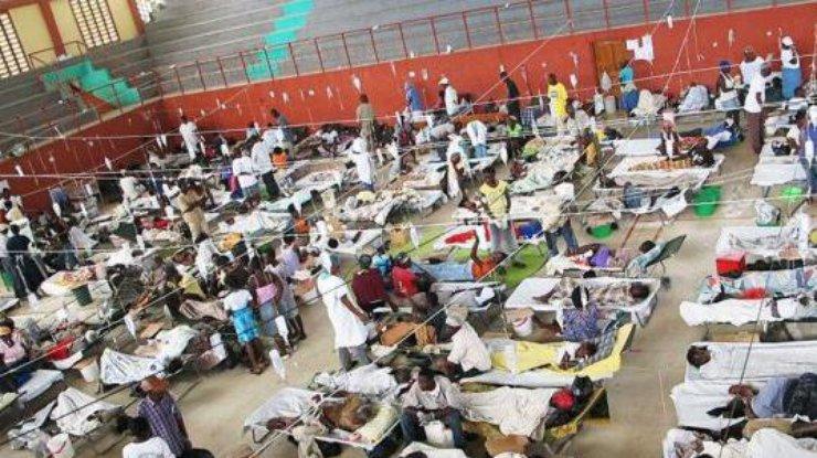 ВЙемене холерой заболели 300 тыс. человек
