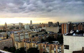 Ливень в столице