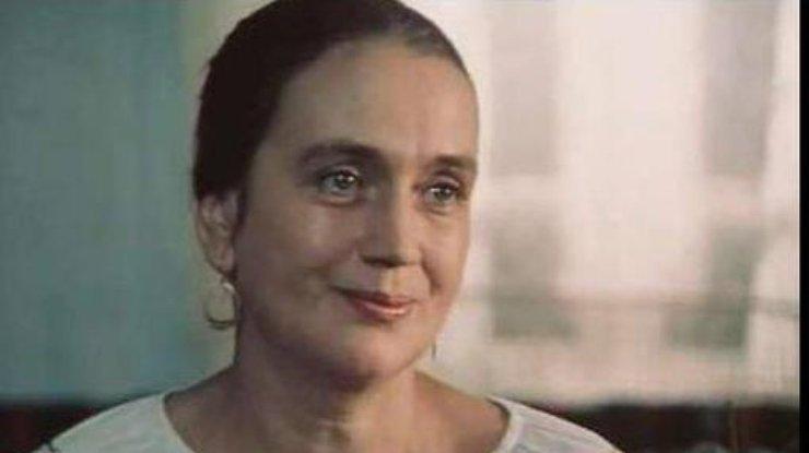 Советская артистка Ирина Бунина скончалась вКиеве