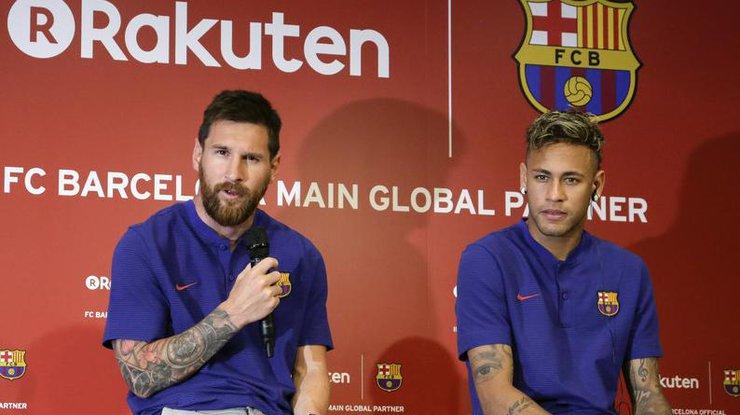 Неймар готов покинуть'Барселону из-за Месси