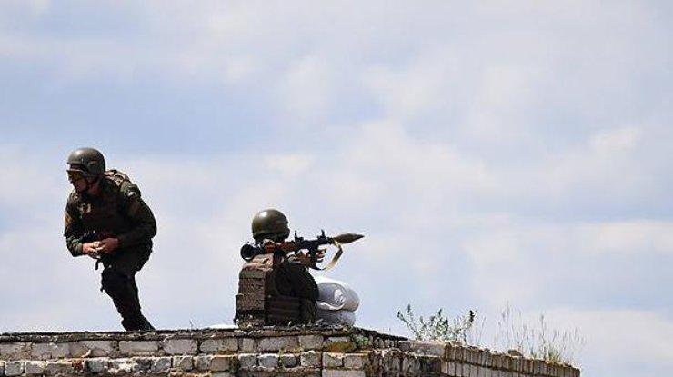 ВДонбассе засутки погибли 9 украинских военных