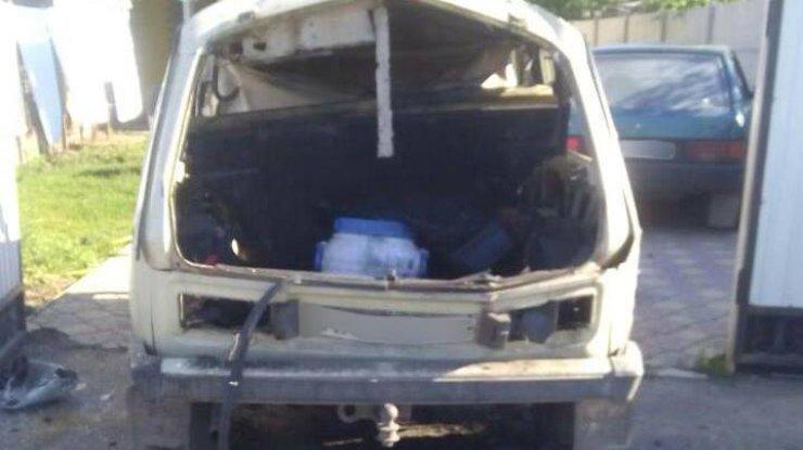 ВХарьковской области взорвался автомобиль: пострадал один человек