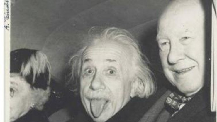 Знаменитое фото Эйнштейна будет выставлено на аукционе