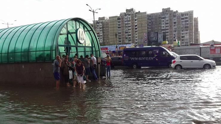 Картинки по запросу ливни в Киеве - фото